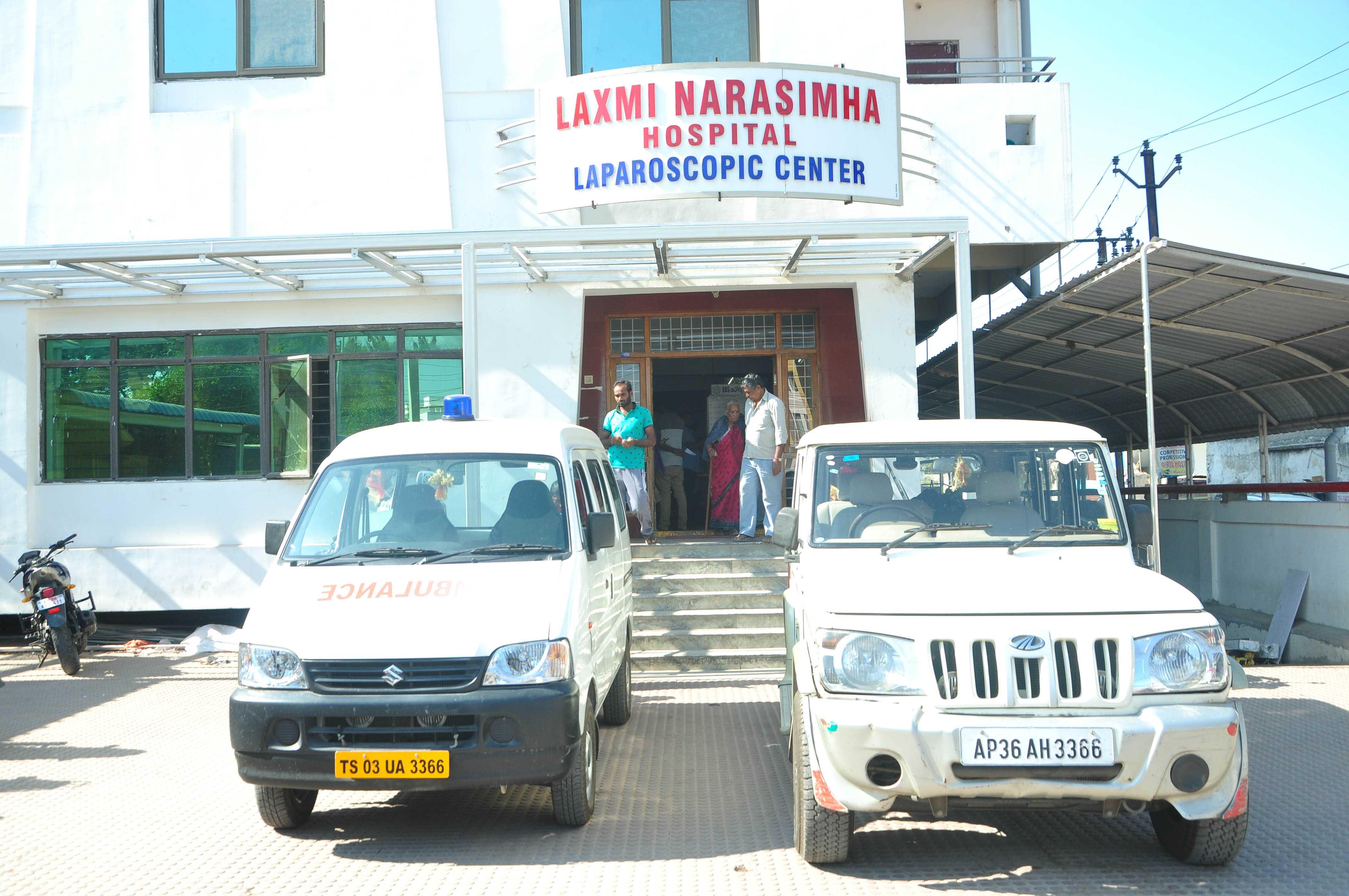 Ambulance for patient
